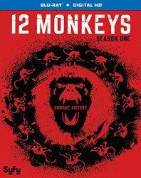 12 MONKEYS SEASON ONE DVD Cover