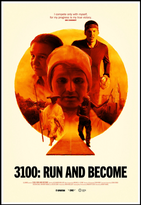3100: RUN AND BECOME Release Poster
