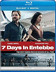 7 Days In Entebbe Release Poster