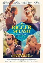 A BIGGER SPLASH Release Poster