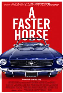 A FASTER HORSE Release Poster
