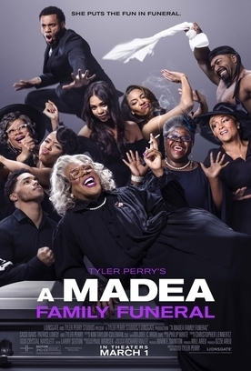 MADEA FAMILY FUNERAL Release Poster