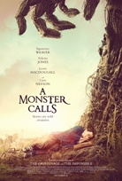 A MONSTER CALLS Blu-ray Cover
