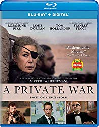 A PRIVATE WAR Release Poster