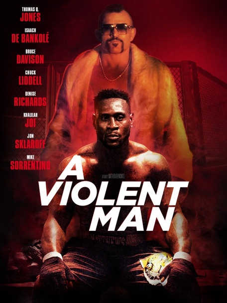 A VIOLENT MAN Release Poster