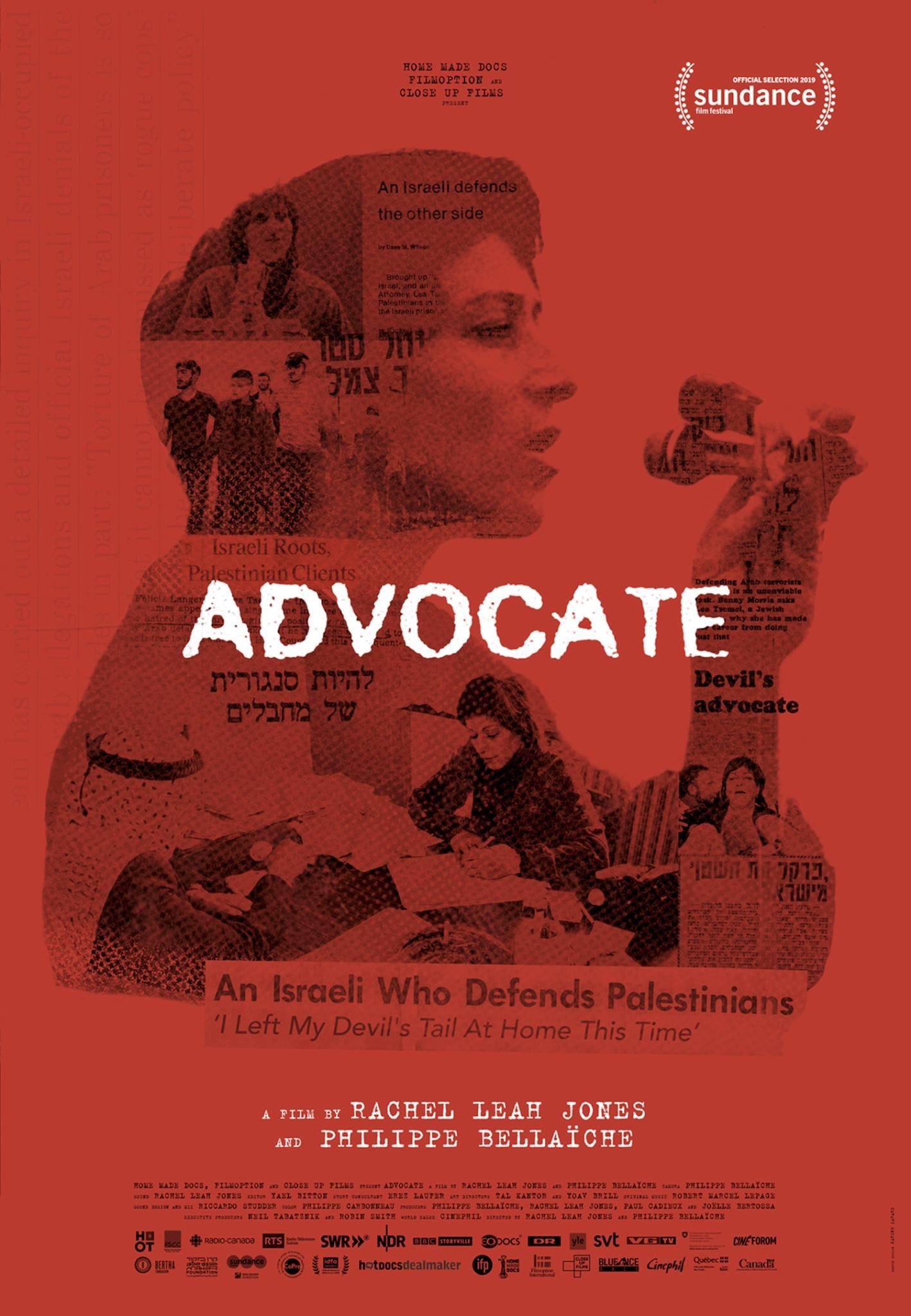 ADVOCATE Release Poster