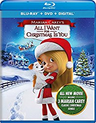 MARIAH CAREY'S ALL I WANT FOR CHRISTMAS IS YOU Blu-ray Cover