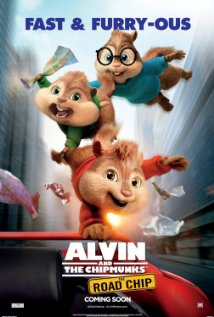 ALVIN AND THE CHIPMUNKS: THE ROAD CHIP Release Poster