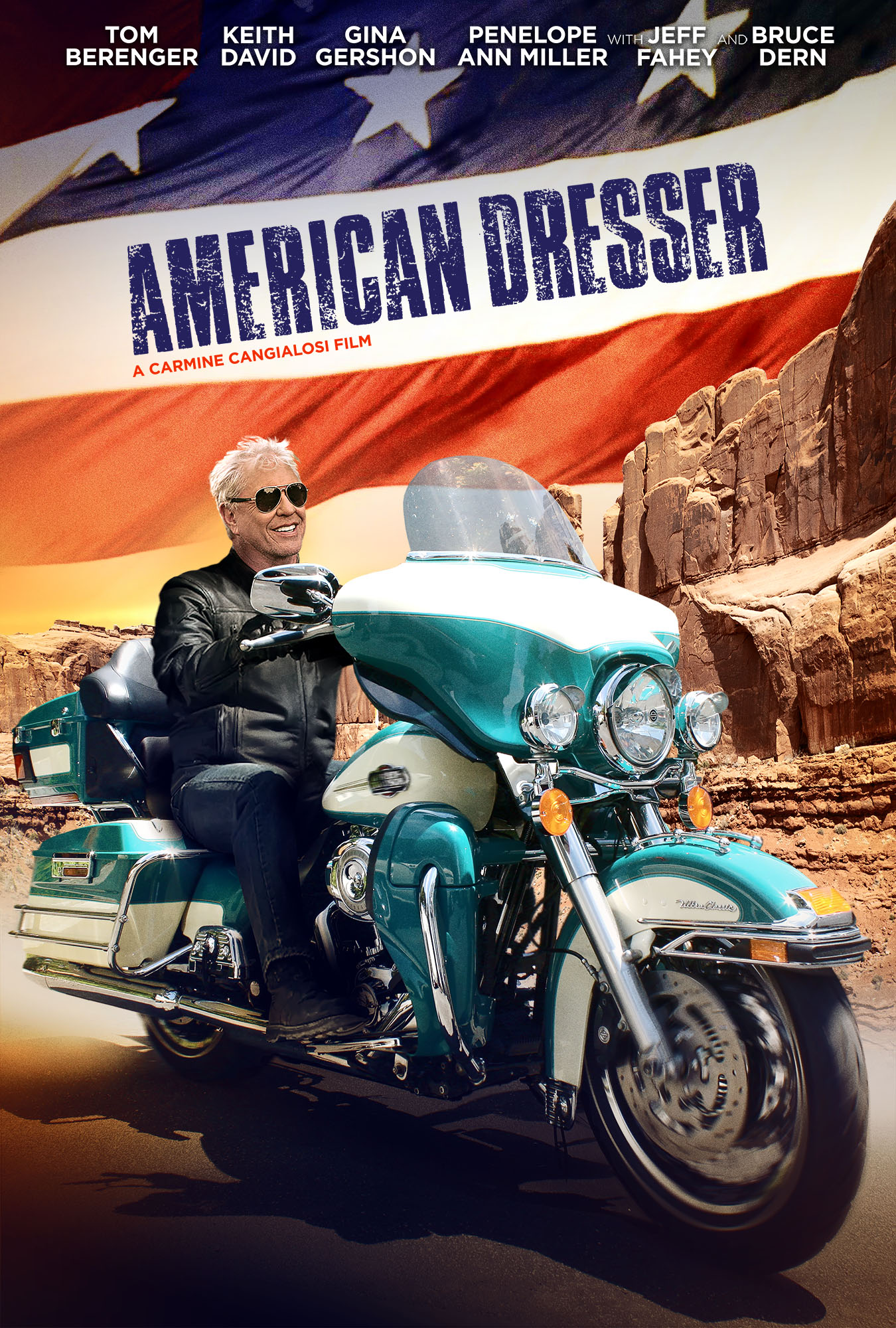 AMERICAN DRESSER Release Poster