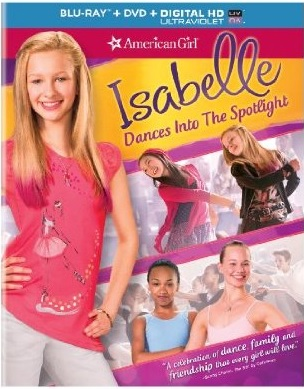 American Girl Isabelle Dance into The Spotlight Blu-ray