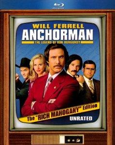 Anchorman The Rich Mahogany Edition Blu-ray