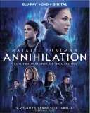 ANNIHILATION Blu-ray Cover