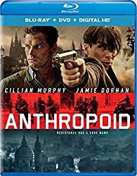 ANTHROPOID Blu-ray Cover