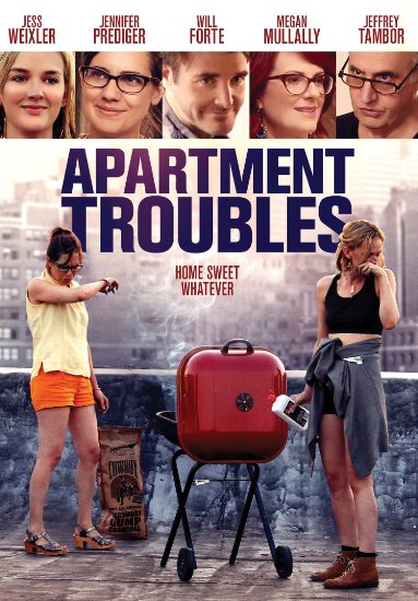 APARTMENT TROUBLES DVD Cover