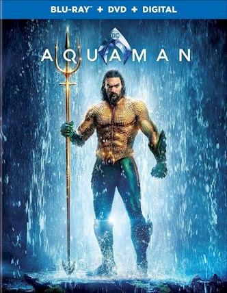 AQUAMAN Blu-ray Cover