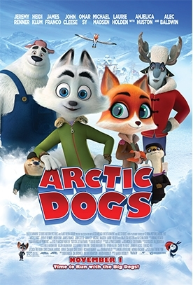 ARCTIC DOGS Release Poster