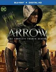 ARROW SEASON FOUR Blu-ray Cover