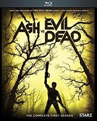 ASH VS EVIL DEAD SEASON ONE Blu-ray Cover