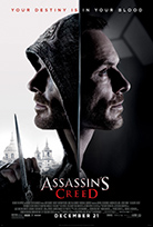 ASSASSIN'S CREED Release Poster