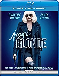 ATOMIC BLONDE Blu-ray Cover