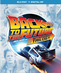 BACK TO THE FUTURE 30 ANNIVERSARY TRILOGY DVD Cover