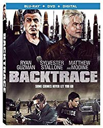 BACKTRACE Blu-ray Cover