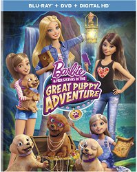 BARBIE & HER SISTERS IN THE GREAT PUPPY ADVENTURE Cover