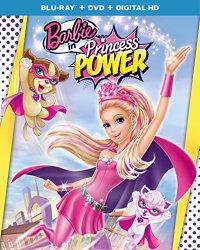 Barbie in Princess Power Blu-ray