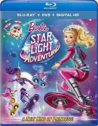 BARBIE STAR LIGHT ADVENTURE Blu-ray Cover