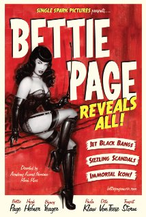 Bettie Page Reveals All Movie Poster