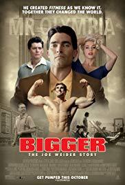 BIGGER Release Poster