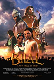 BILAL: A NEW BREED OF HERO Release Poster