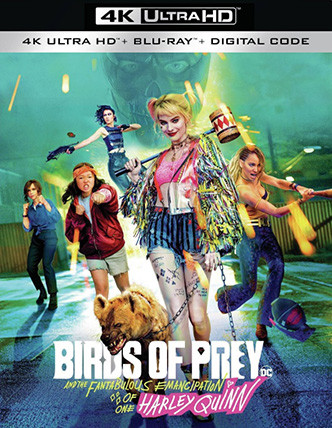 BIRDS OF PREY Release Poster