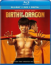 THE BIRTH OF THE DRAGON Blu-ray Cover