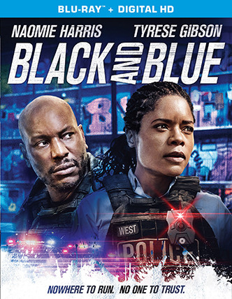 BLACK AND BLUE Release Poster