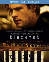 Blackhat (Blu-ray + DVD + Digital HD UltraViolet Combo Pack With Bonus Blu-ray 3D)