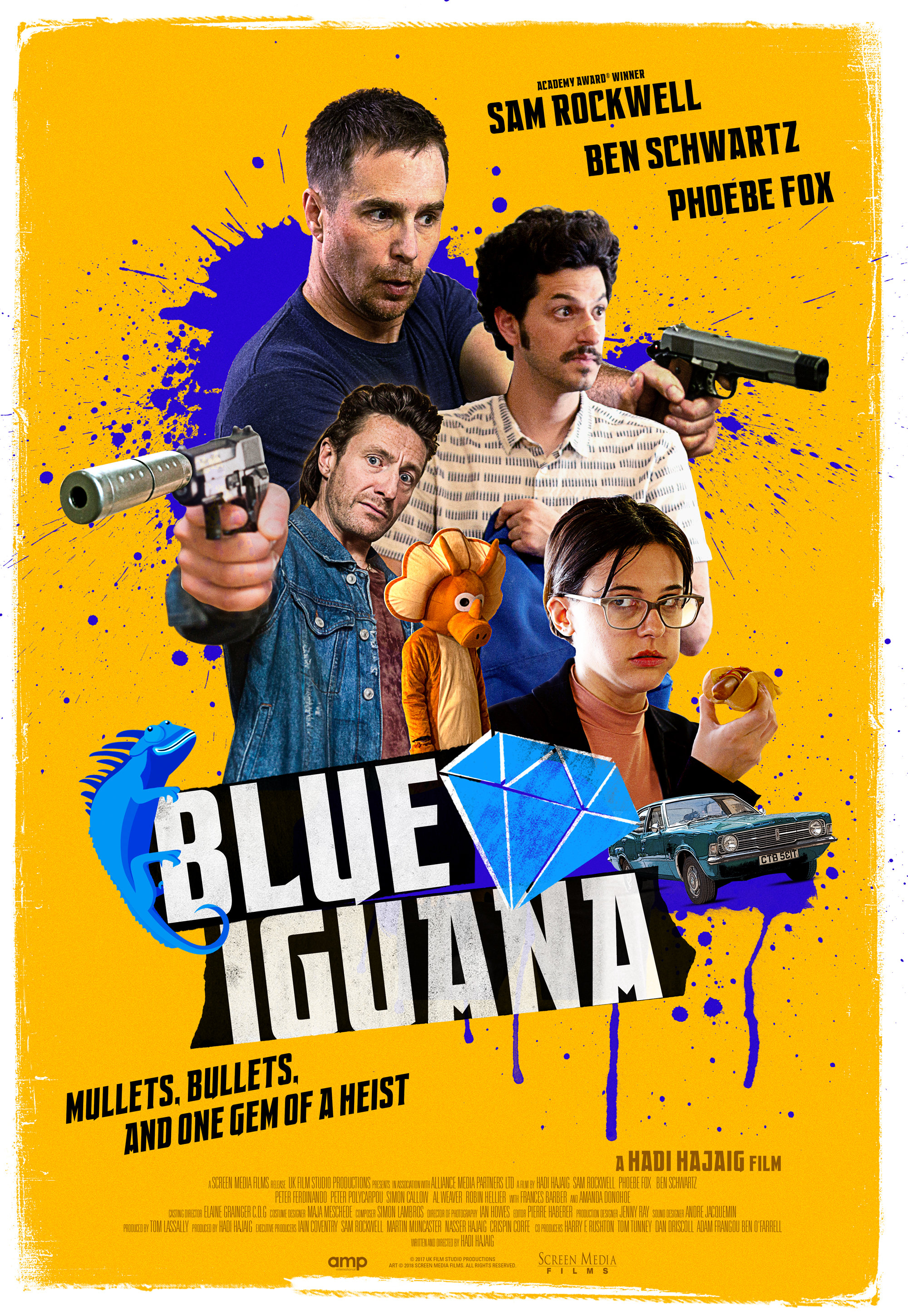 BLUE IGUANA Release Poster