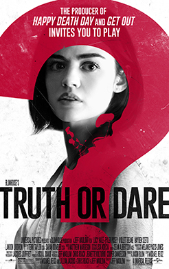 BLUMHOUSE'S TRUTH OR DARE Release Poster