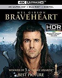 braveheart-4k Blu-ray Cover