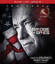 BRIDGE OF SPIES Blu-ray Cover