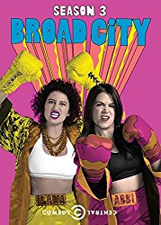 BROAD CITY SEASON THREE Blu-ray Cover