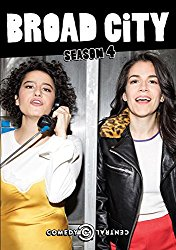 BROAD CITY SEASON 4 Blu-ray Cover