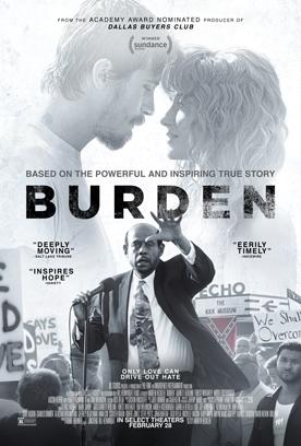 BURDEN Release Poster