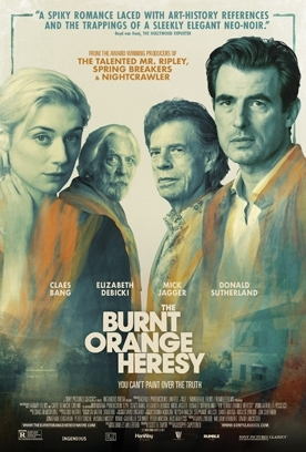 BURNT ORANGE HERESY Release Poster