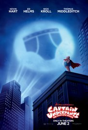 CAPTAIN UNDERPANTS: THE FIRST EPIC MOVIE Release Poster