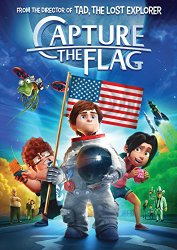 CAPTURE THE FLAG Blu-ray Cover