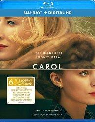 CAROL Blu-ray Cover