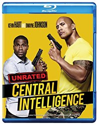 CENTRAL INTELLIGENCE Blu-ray Cover