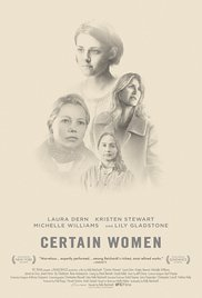 CERTAIN WOMEN Release Poster