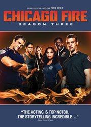 Chicago Fire Season 3 DVD Cover